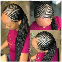 black braided hairstyles,cornrow braid hairstyles,braided updo for black hair,cornrows for black wom Braided Hairstyles For Black Women Cornrows, Feed In Braids Hairstyles, Braids Hairstyles Pictures, Braided Ponytail Hairstyles, My Hairstyle, African Hairstyles, Braided Updo, Hairstyles 2018, Cornrows Updo