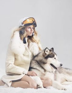 White fashion for women Those travelling to colder climes this winter have carte blanche to trip the white fantastic. Photography and styling by Damian Foxe