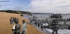 D-Day practice, Slapton Sands, Devon UK (© Ghosts of History, http://www.ghostsofhistory.co.uk/ )