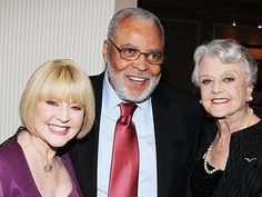 You Can't Take It With You star James Earl Jones and his wife Cecilia catch up with Angela Lansbury