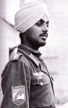 Sikh Soldier in FREIES INDIAN LEGION