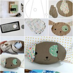 DIY Pillow Tutorial. See this tutorial here
