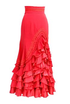 SONIA JOHNES NOVEDADESの画像 Flamenco Costume, Flamenco Skirt, Flamenco Dresses, Dance Outfits, Dance Dresses, Skirt Fashion, Fashion Outfits, Spanish Dress, Lace Dress Styles