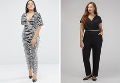 Party outfits for festive season - This is Meagan Kerr Slacks, Trousers, Pants, Embellished Jumpsuit, Wrap Jumpsuit, Tights, Leggings, Asos Curve, Party Outfits