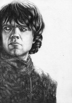 Peter Dinklage pour #GameOfThrones  [Copyright : Sheepys_drawings]