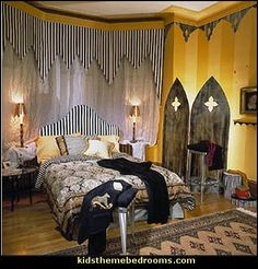 victorian gothic decor | gothic style decorating ideas-gothic themed bedrooms