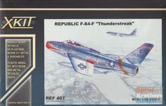 FON48407 1:48 Fonderie Miniature F-84F Thunderstreak