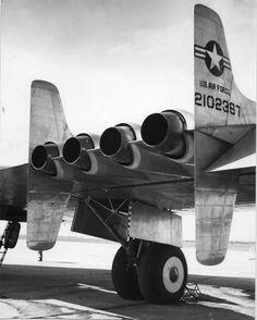 """rhubarbes: """" The Northrop YB-49 """"Flying Wing"""" (1947) via Luis Cesar More Airplanes here. """""""