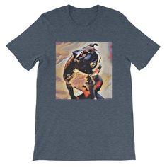 Unisex Artisan Boston Terrier Short Sleeve T-shirt Exclusive Design