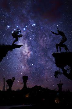 Oddworld Nightscape by BenDiAnna.deviantart.com on @deviantART