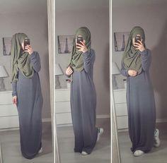 Abaya maxi + hijab