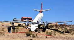 Aerocon Swearingen SA-227DC Metro, no injuries.
