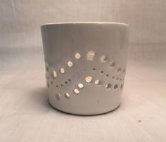 Handemade Portavelas de cerámica porta té por HandsOnCeramics