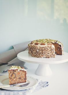 Amarula Carrot Cake by A Table For Two Cake Recipes, Dessert Recipes, Yummy Recipes, Delicious Desserts, Yummy Food, Star Food, Pretty Cakes, Carrot Cake, Let Them Eat Cake
