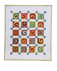 Free Motion Quilting Idea Book Amanda Murphy : Nice setting for a sampler quilt by theresia12076185 on Craftsy. Pattern -- Ramblin Rose from ...