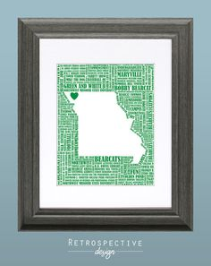 Northwest Missouri State University Word by RetrospectiveDesign