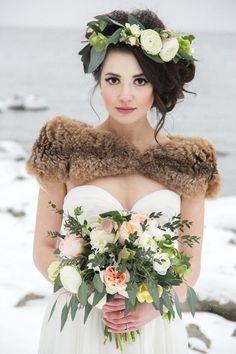 Winter Wedding Ideas | Bridal Musings Wedding Blog