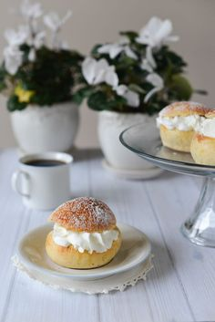 Norwegian Fastelavnsboller (known in Sweden as Semlor) are fluffy cardamom-scented buns loaded with rich almond paste and whipped cream. This recipe is from Daytona Strong for the Norwegian American Weekly.
