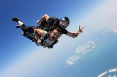 Feeling alive! #Skydive #Dubai