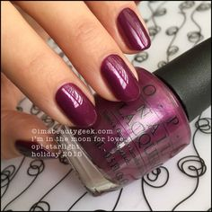OPI I'm In The Moon For Love – OPI Starlight Collection Holiday 2015