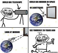 physics | Build Big Telescope Troll Physics | Troll Scientist