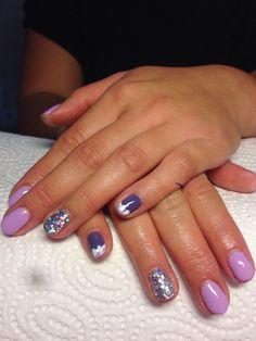 Cute bun nailss