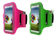 Gym Running Jogging Sports Easy Fit Armband Cases for Samsung Galaxy S4 | Lagoo Tech