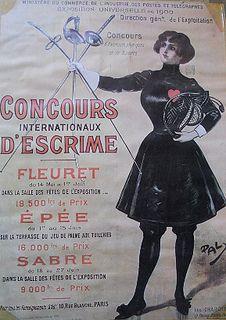 Concours d'Escrime (Exposition Universelle Paris 1900)