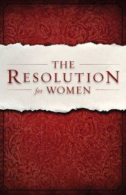 The Resolution For Women free bible study. Downloadable and printable.