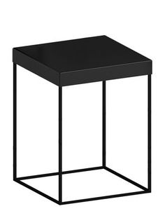 2de78f7452d9f Slim Up End table - 41 x 41 x H 46 cm Black copper by Zeus - Design  furniture and decoration with Made in Design. Pia Lucas · Small tables