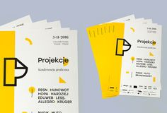 Projections 2016 / Graphic Design Conference on Behance