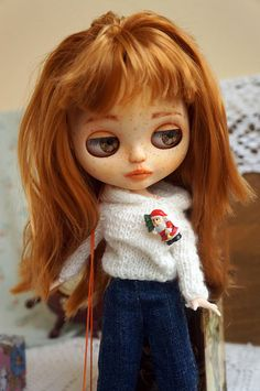 Free shipping! Marie Blythe doll, Blythe OOAK, Custom Blythe, Custom doll, Ooak Doll, Collectible Doll, Doll