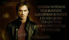 Frases da série: The Vampire Diaries, Damon Salvatore. - Net7Art