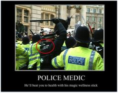 Police Medic - funny pictures - funny photos - funny images - funny pics - funny quotes - #lol #humor #funny