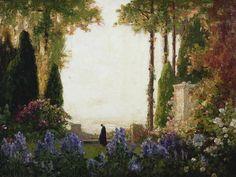 Thomas Edwin Mostyn - The Garden of Romance