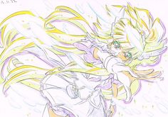 Futari Wa Pretty Cure, Illustrations And Posters, Sketches, Star Art, Illustration, Art, Anime, Art Tutorials, Magical Girl