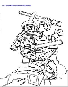 Lego Star Wars Coloring Pages Star Wars Birthday abec06aeac00