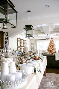 hot-chocolate-bar-christmas-cookie-exchange-party