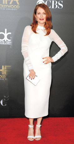 Julianne Moore Proves That Great Style Has No Age from InStyle.com