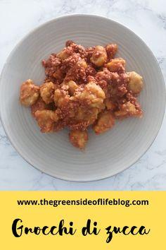 Gnocchi di zucca al cucchiaio velocissimi Gnocchi, Chicken, Meat, Food, Essen, Meals, Yemek, Eten, Cubs
