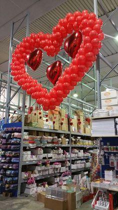 Cuore San Valentino Palloncini,idee per San Valentino Palloncini