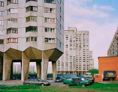The Glorious Communist Architecture. PHOTOS: The Stark Communist Architecture Of Eastern Europe - Business Insider Architecture Constructiviste, Constructivism Architecture, Russian Architecture, Futuristic Architecture, Brutalist Buildings, Modern Buildings, Beautiful Buildings, Modernisme, Concrete Structure