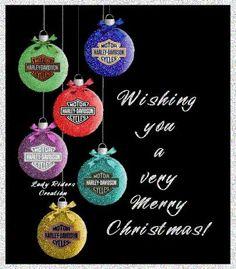 Harley Davidson Merry Christmas Images