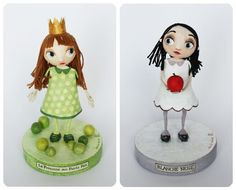 two girls of fairy tales