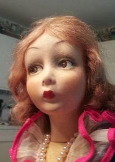 Beautiful Mint Lenci Boudoir doll, C. 1930