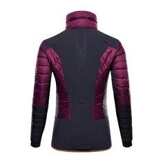 Hybrid Jacket – Potent Purple – BACK – PAS7501