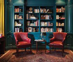 Transformez un coin de lecture avec des touches de couleurs.