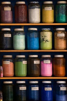 #Dyes and pigments of Morocco, #colorful