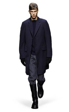 Ermenegildo Zegna Couture: Fall Winter 2014-15 Fashion Show by Stefano Pilati – Look 4