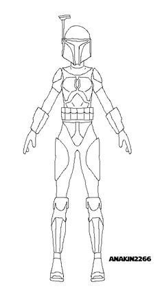female mandalorian armor template - Google Search